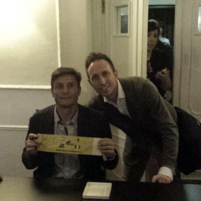 Javier Zanetti festa fondazione PUPI