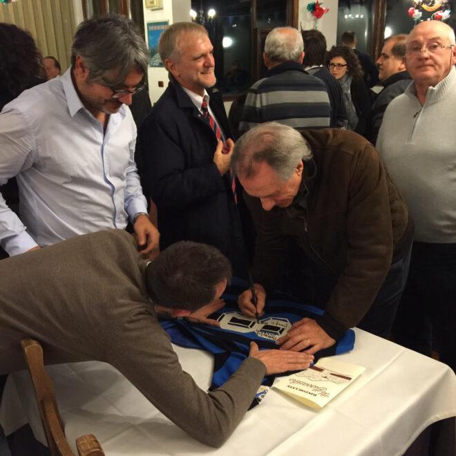 Marini autografa la maglia 1984/85